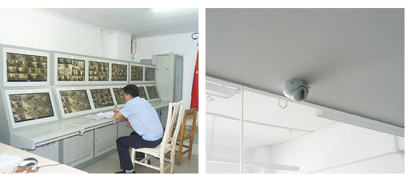 弱电监控机房和室内摄像头