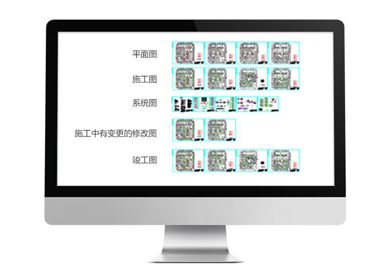 喜乐福商业城弱电系统图