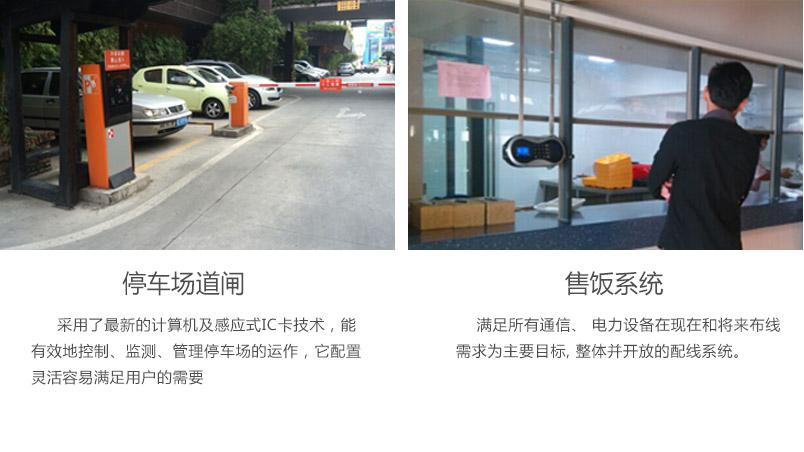 停车场道闸和售饭系统