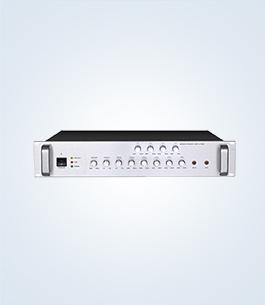 分区可调音量合并式广播功率放大器